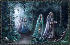 Elves leave Middle Earth by Araniart.deviantart.com on @deviantART