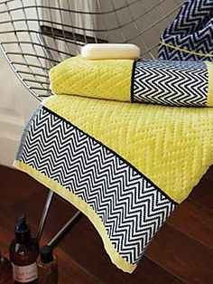 Altuza towel range in citrus