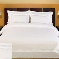 Pure Egyptian cotton linen - what luxury.