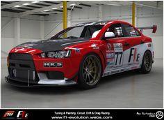 F1E Promo shots - (F1E) Formula 1 Evolution. Mitsubishi Evo - Racing, Tuning, Design. Evo X, Evolution Mitsubishi, Racing, Car, Vehicles, Shots, Real Estate, Design, Running