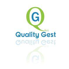 Logo aziendale per società di gestione delle telecomunicazioni.  QUALITY GEST s.r.l (proposta 1)