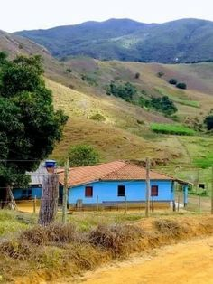 Village Houses, Mother Nature, Puerto Rico, Countryside, Tiny House, Country Roads, Cottage, Cabin, Landscape