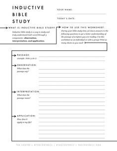 Printables Bible Study Worksheets For Youth free printable bible study worksheet for any passage inductive sheet