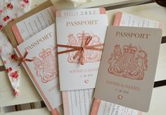 A personal favourite from my Etsy shop https://www.etsy.com/uk/listing/601131889/rose-gold-sparkle-passport-wedding
