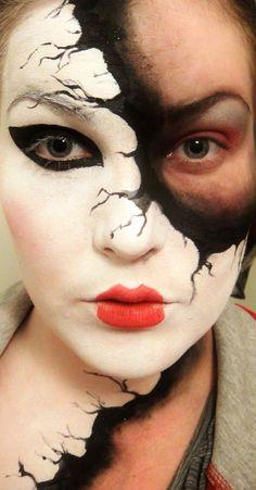 Masquerades Mask Halloween Makeup