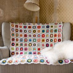 Beautiful Granny Square Blanket