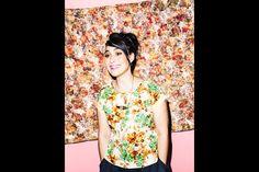 Kathleen Hanna / Julie Ruin / Spin magazine / Large Ellipse Necklace