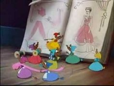 My favorite part is when the mice make her dress!! ...truly started my path to designing!