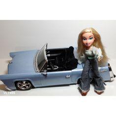"Bratz 16"" Radio Convertible Car 2002 RadioShack MGA Entertainment & Bratz Doll"