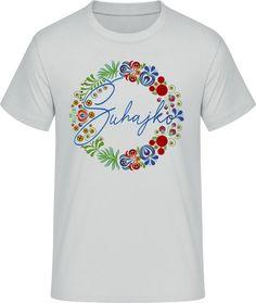 Ľudový motív Šuhajko - Pánske ľudové tričko - svetlá sivá Textiles, Mens Tops, T Shirt, Fashion, Supreme T Shirt, Moda, Tee Shirt, Fashion Styles, Fabrics