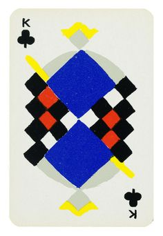 Sonia Delaunay, Simultané playing cards, 1964 (designed 1939)