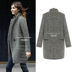 Wanna be both warm and fashion? This #womencoat make it! The warm material and  exquisite design can bring you a warm and chic winter!