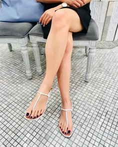 Vicky's beautiful feet 😍 from Beautiful Sandals, Beautiful Toes, Lovely Legs, Pretty Toes, Sexy Sandals, Bare Foot Sandals, Feet Soles, Women's Feet, Sexy Legs And Heels