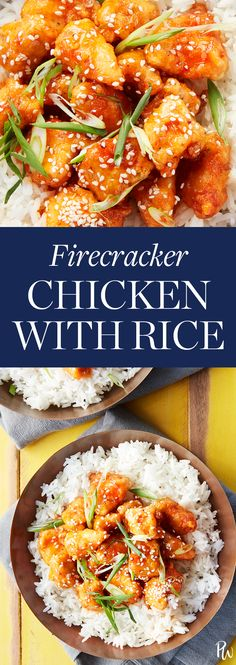 Firecracker Chicken with Rice #purewow #dinner #recipe #cooking #food #chicken #easy