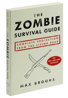 The Zombie Survival Guide  ha perfect timing!!