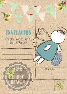 Visita la entrada para saber más Olive Green Bridesmaid Dresses, Baby Boy Themes, Letters For Kids, Face Images, Baptism Party, Angel Pictures, Borders For Paper, Paper Frames, Holidays And Events