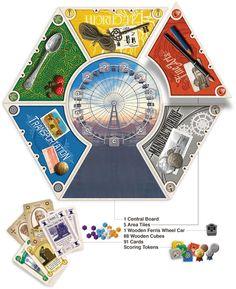 Kickstarter: World's Fair 1893 - Board Game
