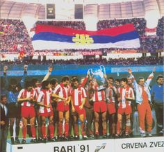 Red Star Belgrade with the European Cup - Image via abc