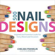 500 Nail Designs book!