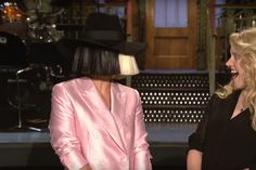 Sia returned to Saturday Night Live last night, in what technically marks her third appearance on the show this year — counting her SNL 40 performance with K...