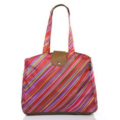 Southampton Tote Neon Chalk, $19, now featured on Fab.