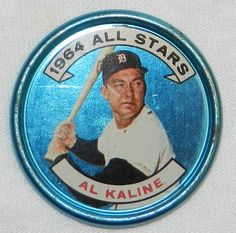1964 Topps Baseball Coin - #129 Detroit Tigers AL KALINE #Topps $12.99 Free Shipping