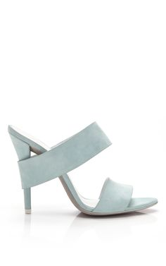 Love the color, texture and shape. In short, everything. Alexander Wang Kid Suede Sandals