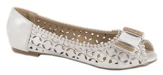 Balerini - Balerini albi de dama 181-10A - Zibra Flats, Shoes, Fashion, Loafers & Slip Ons, Moda, Zapatos, Shoes Outlet, Fashion Styles, Shoe