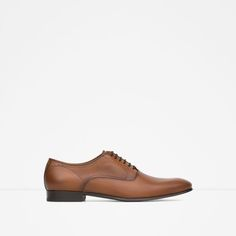 Image 1 of DRESSY LEATHER SHOES from Zara