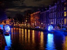 The Amsterdam Light Festival Brightens The City At Night