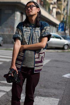 Gorgeous... love the jacket, via The Sartorialist