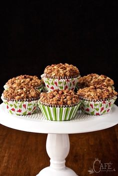 Perfect for breakfast, brunch and snacking, these delicious, healthy Gingerbread Morning Glory Muffins, with lots of seasonal flavor, are a crowd pleaser!