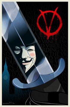 V For Vendetta by Matt Synowicz www.ejaculation-g. V For Vendetta Wallpapers, Comic Books Art, Comic Art, V Pour Vendetta, Overwatch, Ideas Are Bulletproof, The Fifth Of November, Heros Comics, Anonymous Mask