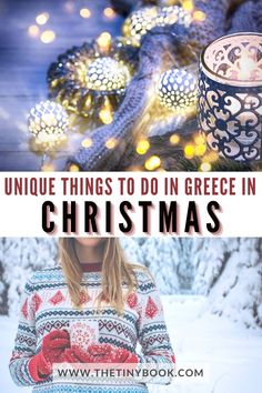 When you think about Greece, you usually picture sunny days by the sea. However, Greece is not only a great summer holiday destination. As a matter of fact, there are different and unique Greek Christmas traditions that it's possible to discover during the cold season.