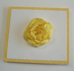 Ribbon Rose Tutorial