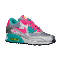 Nike Air Max 90 Girls' Grade School ❤ liked on Polyvore