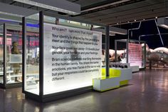 Science Museum – Who am I? (2010) 2010 | Exhibition | Graphic Thought Facility