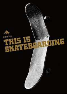 This is skateboarding
