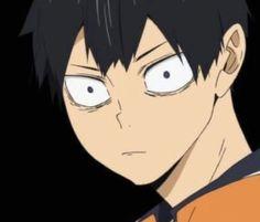 Haikyuu Kageyama, Hinata Shouyou, Haikyuu Funny, Haikyuu Anime, Hottest Anime Characters, Haruichi Furudate, Little Giants, Anime Expressions, Anime Screenshots