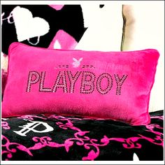 Yess<3 I Love Playboy pillows! :)