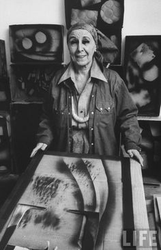 Louise Nevelson was an American sculptor known for her monumental, monochromatic, wooden wall pieces and outdoor sculptures.