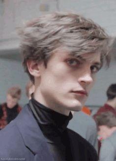 grey soft hair