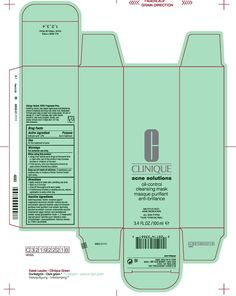 clinique packaging template