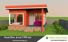 Punjab 6 Lakh best factory built homes Modern Exterior House Designs, Modern House Design, Exterior Design, Modern Houses, Indian Home Design, Kerala House Design, Villa Design, Facade Design, Best Small House Designs
