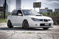 Mine!!!!!!!!!  06 WRX Wagon :)