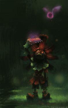 triforceof-power:  Skull Kid, Majora's Mask by ~SpoonfishLee