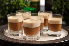 The highly enjoyed after-dinner drink gets revamped in jello shot form. Coffee and Jameson are topped with a creamy Bailey's layer that goes down smooth! Read More