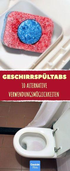 10 Anwendungen für Geschirrspültabs. #hausmittel #tabs #geschirrspüler #spülertabs #putzen #haushalt #backofen