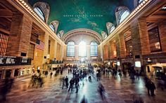 Grand Central Station. A-Mazing