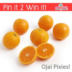 March 2014 Pinterest #Giveaway: Re-Pin this Pin for a chance to win Melissa's delicious Ojai Pixie Tangerines!!!! #pinit2winit #melissasproduce #ojaipixies #ojai #tangerines